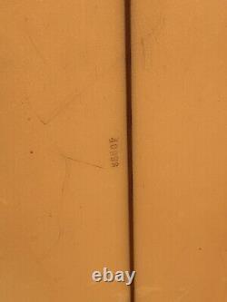 Vintage HOBIE CORKY CARROLL DEADLY FLYING GLOVE LONGBOARD SURFBOARD 90 3/4
