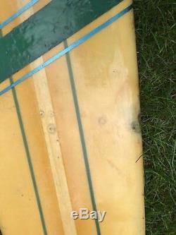 Vintage Harbour Surfboard Longboard 9' 2 Serial #1634