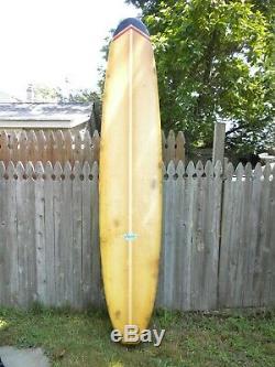 Vintage Hobie Surfboard Longboard 10ft original