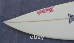 Vintage Kaysen Brand San Clemente California Surf Board Signed 7 Feet Long