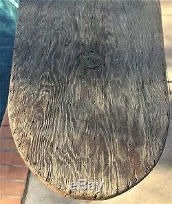 Vintage Kook Box Pre-War Wood Paddle Board Surf Board Surfing SUP