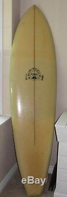 Vintage Late 60's O'Neill Surfboard LOVE CRAFT 7