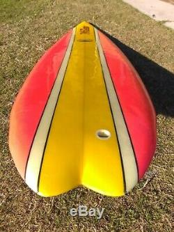 Vintage McCoy Lazor Zap Surfboard