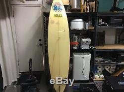 Vintage Michael's Surf & Sports 7'8 Surfboard (Fun Board) Local P U