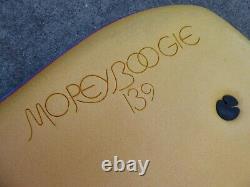 Vintage Morey Boogie 139 Red Edge bodyboard boogieboard board with fins