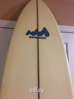 Vintage Patagonia Surfboard Handmade & Signed by Fletcher Chouinard Exc Cond