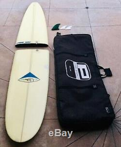 Vintage Pope Bisect Kenny Yater Two-piece Travel Surfboard