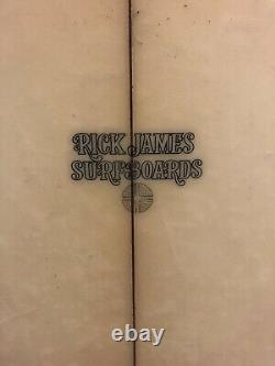Vintage Rick James Surfboard