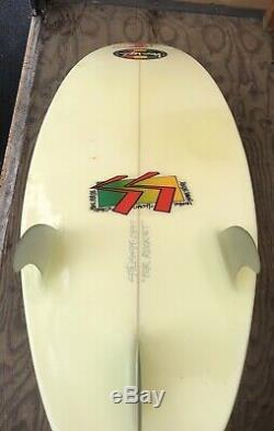 Vintage Stussy Surfboard 62