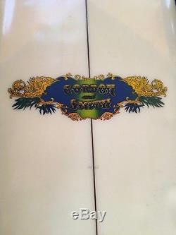 Vintage Surfboard Gorden & Smith Magic 7' 8
