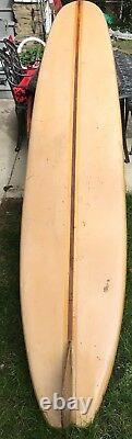 Vintage Surfboard House Miami Surfboard Longboard 9'8 Serial# 2198/Gene Vernon