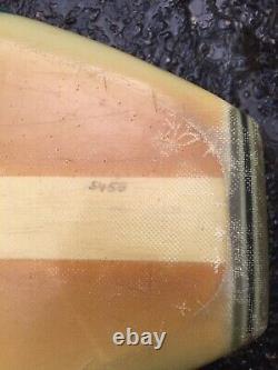 Vintage Surfboards Hawaii longboard surfboard 1960s Great condition 9'4