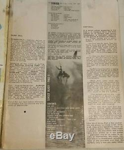 Vintage Surfer Magazine Aug Sep 1962 Rick Griffin & Super Rare Ceramic Nodder