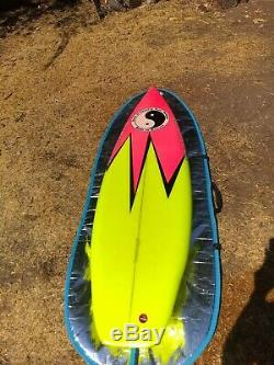 Vintage Town and Country Surfboard