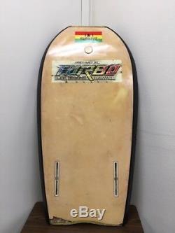 Vintage Turbo Surf Designs OG Body Board 1980's