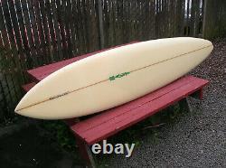 Vintage beautiful Doug Haut big wave surfboard 1975 santa cruz longboard surfer
