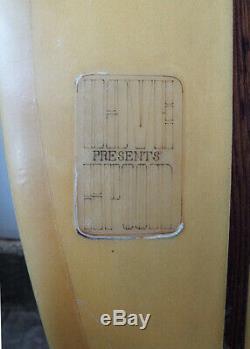 Vintage spoon kneeboard surfboard surfing surf
