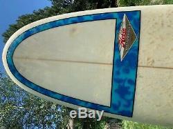 Vintage surfboard, Hobie Peter Pan Slug, 7'8 1990 Great Shape