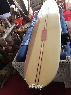 Vtg Bob Ole Olson Numbered 1453 Long Board Surfboard Collector Estate