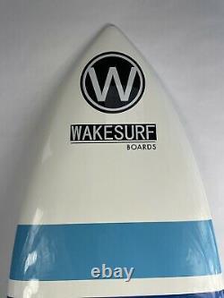 WAKESURF BOARD wakeboards lakes oceans Surf Boards wakeskate comp 4'6 Blue
