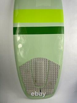 WAKESURF BOARD wakeboards lakes oceans Surf Boards wakeskate comp 4'6 Green