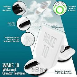 WAKE 10 Wakesurf Creator Wake Surf Shaper Wave Generator NEW