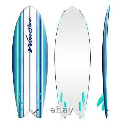 Wavestorm 5'8 Retro Fish Surfboard