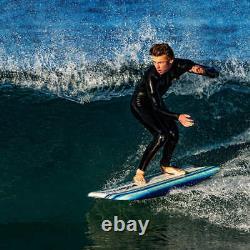 Wavestorm 5'8 Retro Fish Surfboard Soft WBS-IXL Top Deck HD Slick Bottom Premium