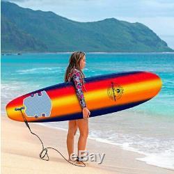 Wavestorm 8' Classic Surfboard Navy Sunburst @@