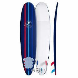 Wavestorm 8ft Classic Surfboard, Blue @@